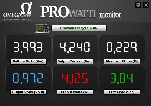 ProWatti Testing: 1.0 Volt - 0.23 Ohm - 4 Watt